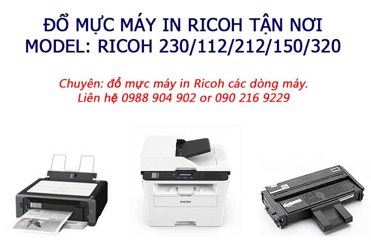 do muc may in ricoh