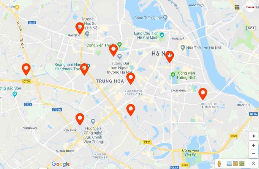 sửa chữa máy in tại Hà Nội