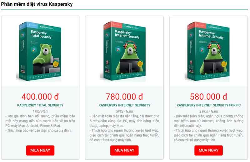 Phần mềm diệt virus tống tiền mã hóa dữ liệu