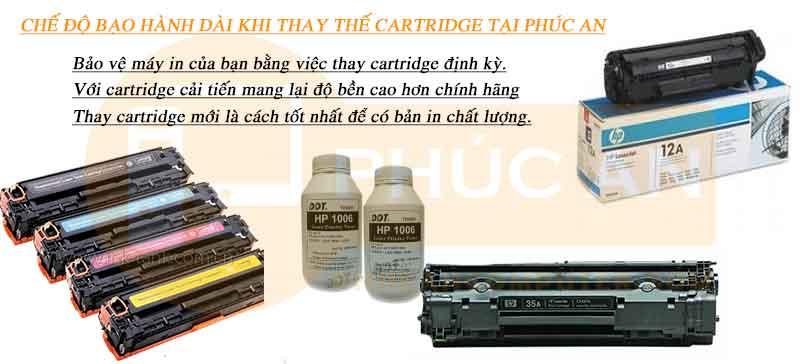 thay cartridge máy in