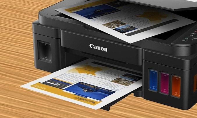 máy in màu đa chức năng canon pixma g2000
