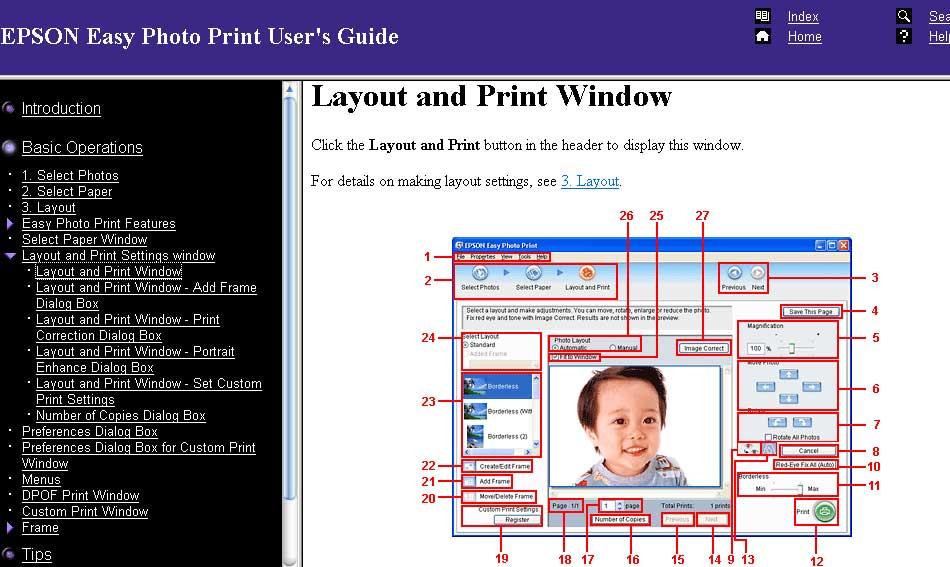 Phần mềm Easy Photo Print Trên epson L805