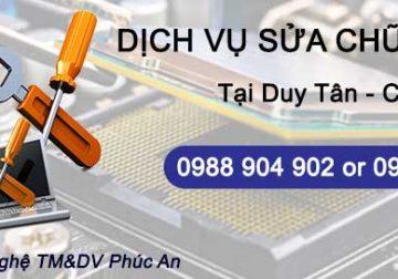 Sửa chữa máy tính tại Duy Tân Cầy Giấy